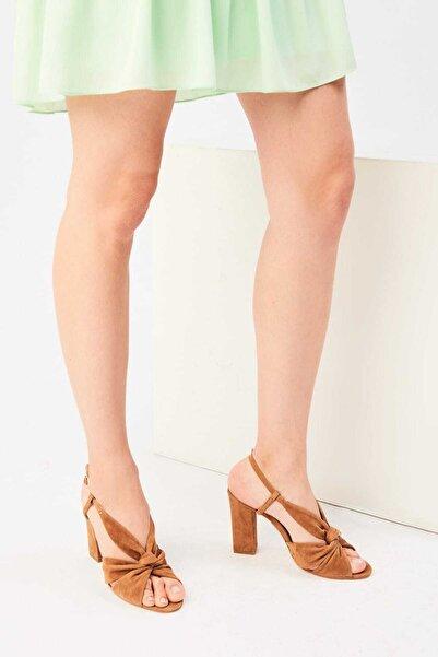 İnci Hakiki Deri Taba Kadın Ayakkabı 120130006926