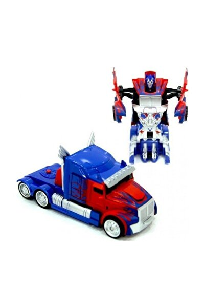 CAN Tek Tuşla Robota Dönüşen Optimus Prime Tır Robot