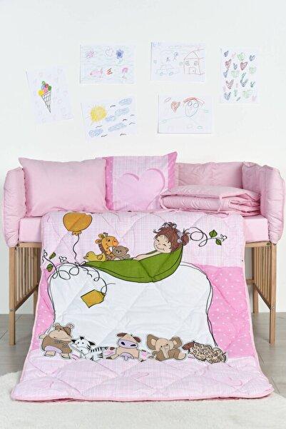 Örtüm Pembe Bebek Uyku Seti