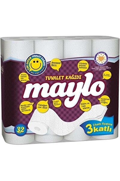 Maylo J-42-56 500817 Tuvalet Kağıdı 3 Katlı 32 'li Paket
