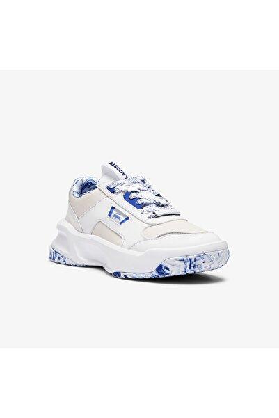 Lacoste Ace Lift 1121 1 Sfa Kadın Deri Beyaz Mavi Sneaker
