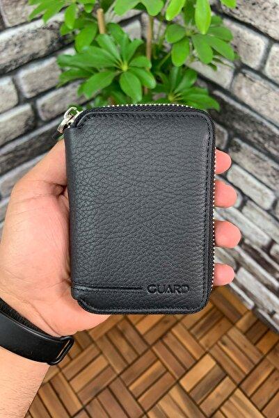 GUARD Mini Fermuarlı Cüzdan / 796 - Siyah