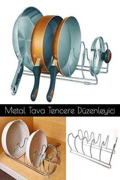 Helen's Home Metal Tava ve Tencere Kapağı Düzenleyici