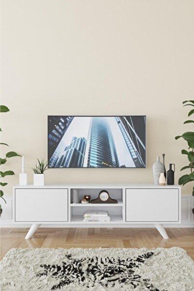 Haus Modüler Haus Romeo Tv Sehpası - Beyaz