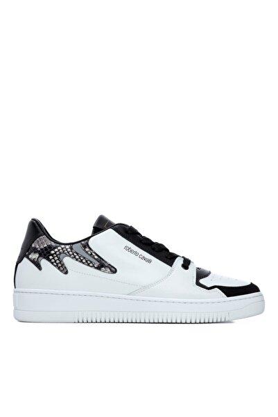 Roberto Cavalli Erkek Deri Sneakers & Spor Ayakkabı 780 10727 Erk Ayk Y21