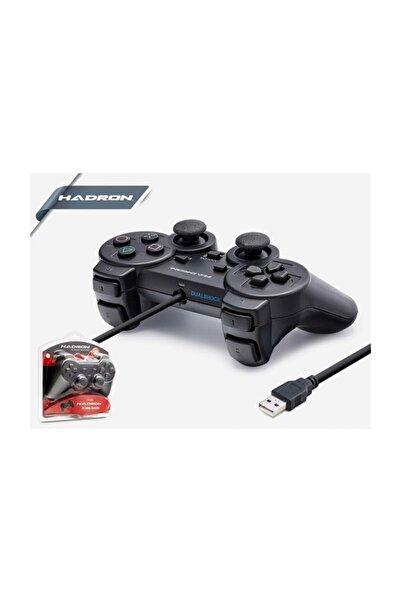 HADRON Hd302 Bilgisayar Pc Usb Oyun Kolu Gamepad Analog Titreşim