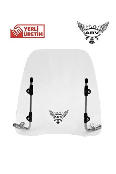 ABV %40 Indirim | Üniversal Motosiklet Siperlik Camı/ön Cam (40x44)