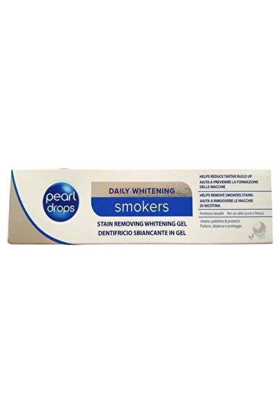 Pearl Drops Sigara İçenler İçin Leke Çıkarıcı Ve Beyazlatıcı Jel Diş Macunu 75 ml 5010724503423