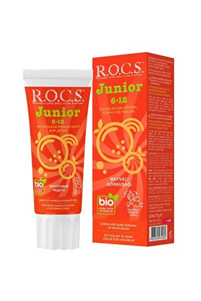 R.O.C.S. Rocs Junior Meyveli Gökkuşağı Diş Macunu 74 g (6-12 Yaş)
