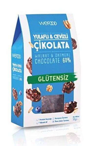 Glütensiz Yulaflı & Cevizli Çikolata 50 gr