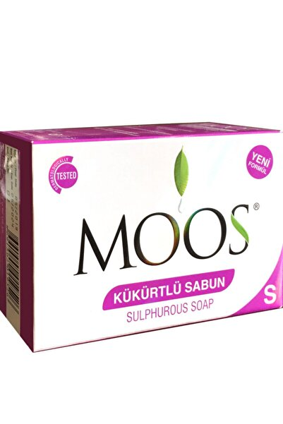 Moos Kükürtlü Sabun 100 gr