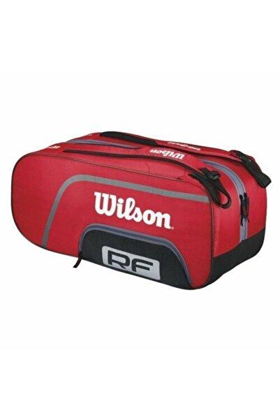 Wilson Federer Team 12pk Rkt. Çantası Kırmızı