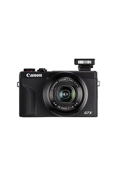 Canon PowerShot G7 X Mark III Siyah Fotoğraf Makinesi (Canon Eurasia Garantili)
