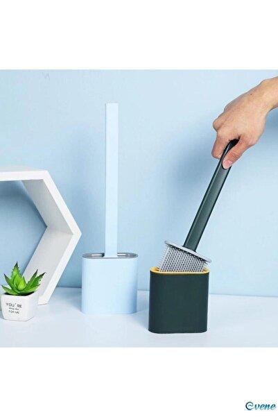 Reona Tuvalet Fırçası Banyo Wc Temizlik Silikon Bükülebilir Fırça
