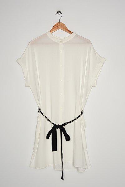 İpekyol Kadın Beyaz Tunik IS1200016032
