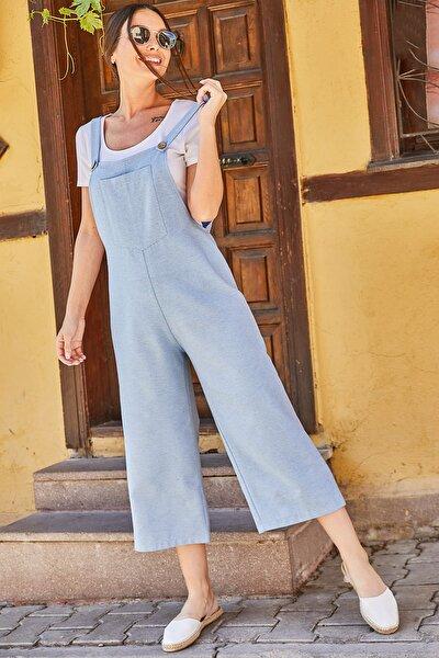 armonika Kadın Bebe Mavi Bahçıvan Tulum ARM-20Y001024