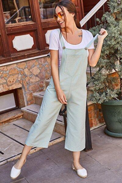 armonika Kadın Mint Bahçıvan Tulum ARM-20Y001024