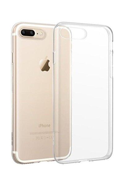 ucuzmi Iphone 7 Plus ve Iphone 8 Plus Uyumlu Şeffaf Silikon Kılıf