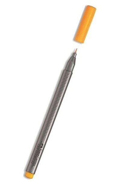 Faber Castell Grip Finepen 0.4 Mm Krom Sarı