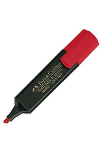 Faber Castell Fosforlu Kalem Renk Çeşitleri Kırmızı