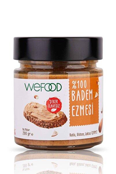 Wefood Şekersiz %100 Badem Ezmesi Sade 200 gr