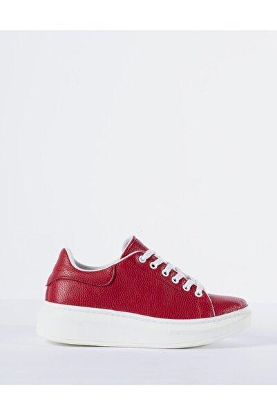 Vision Kadın Kırmızı Spor Ayakkabı
