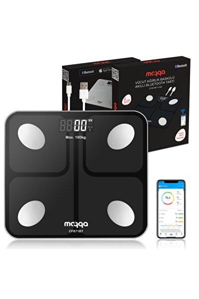 Moqqa Cf871bt Usb Bluetooth Akıllı Vücut Analiz Baskülü - Yağ Ölçer Fonksiyonlu Hassas Dijital Tartı