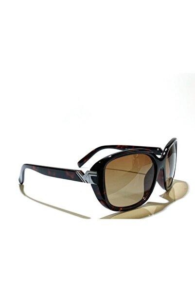 Zoom Kadın Kahverengi Güneş Gözlüğü