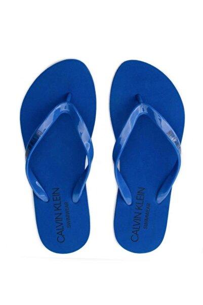 Calvin Klein Kadın Mavi  Terlik (kw0kw00397-446)