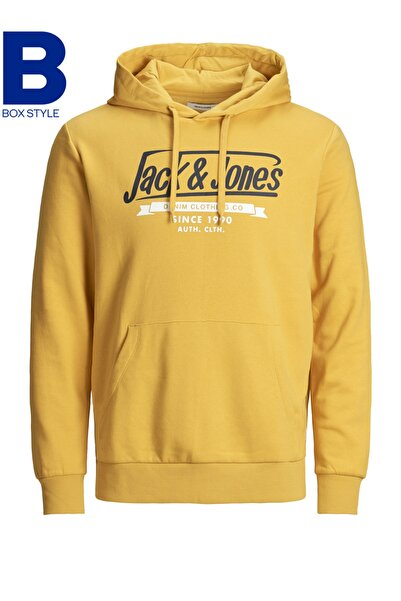 Jack & Jones Kapüşonlu Sweatshirt 12172349 JJELOGO