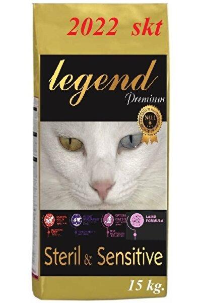 Legend Gold Sterılısed Düşük Tahıllı Kuzu Etli Kısırlaştırılmış Kedi Maması 15 Kg Yetişkin Kısır