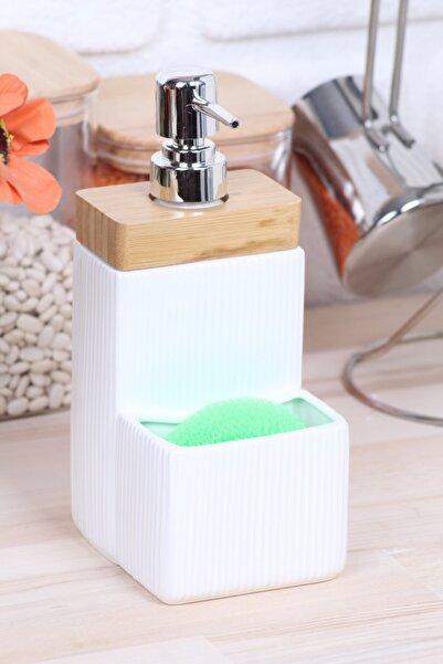 incili home Beyaz Arow Tamara Porselen Sıvı Sabunluk