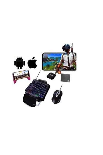 Platoon Pubg Seti 3 In 1 Klavye Mouse Mobil Oyun - Oyuncu Set Pl-1685