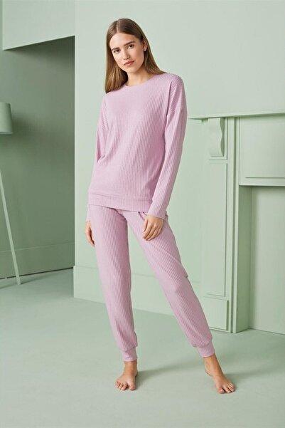 Doreanse Kadın Pembe Pijama Takımı