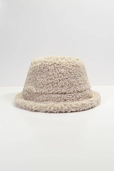 Addax Kadın Bej Bucket Şapka ŞPK1031 ADX-0000022934