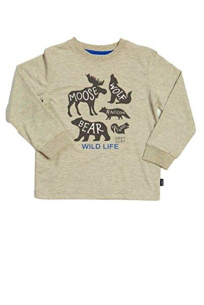 Wonder Kıds Wonder Kids Açık Gri Erkek Sweatshirt