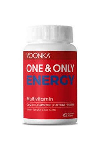 Voonka One & Only Energy 62 Yumuşak Kapsül