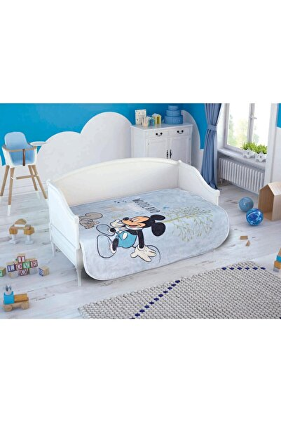 Taç Mickey Little Baby Bebek Battaniye