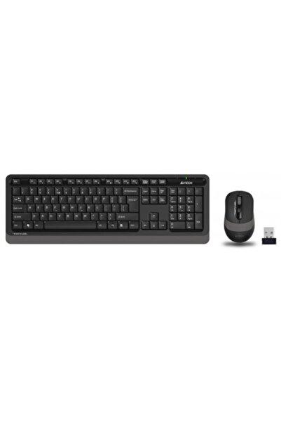A4 Tech Fg1010 Grey Fstyler Türkçe Q 2,4ghz Kablosuz Klavye Mouse Set