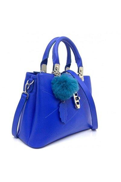 California Forever Kadın Mavi Deri Çanta Bg96021