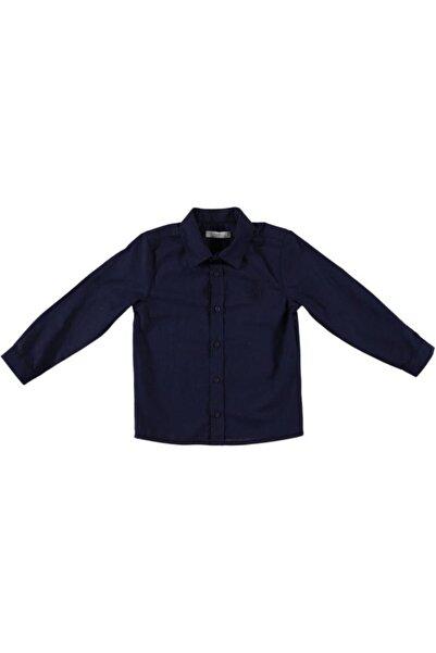 Monna Rosa Erkek Çocuk Lacivert Gömlek