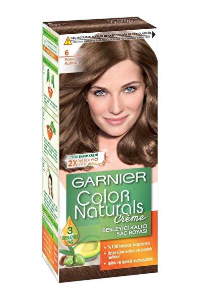Garnier Saç Boyası - Color Naturals 6 Koyu Kumral 3600540310392