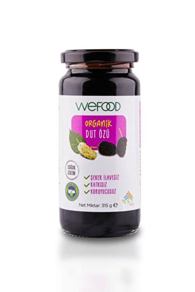 Wefood Organik Dut Özü 315 gr (Soğuk Sıkım)