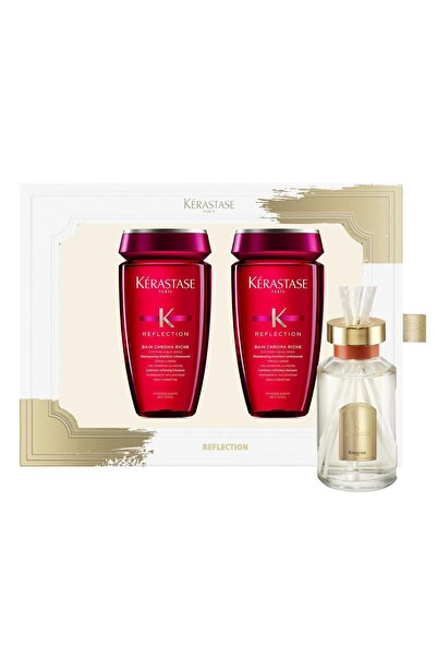 Kerastase Reflection Set - Bain Chroma Riche Şampuan 250ml X 2 Oda Parfümü Hediyeli