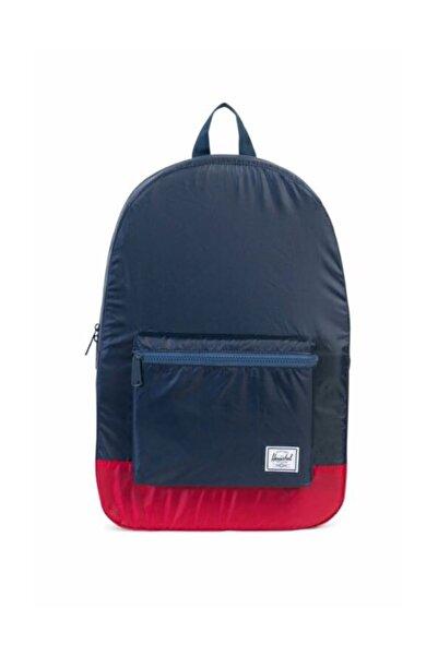 Herschel Supply Co. Herschel Katlanır Sırt Çantası Packable Daypack Navy/Red