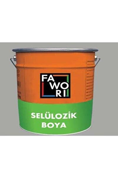 Fawori Selülozik Parlak Boya Alüminyum Gri 2.5 Kg.