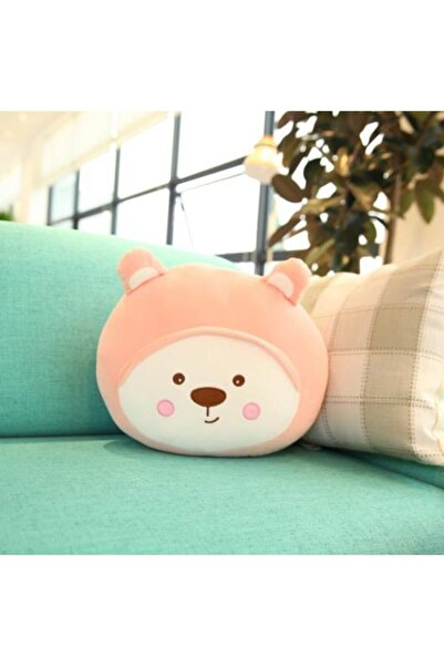 YOYOSO Sevimli Ayı Yastık 36cm Pembe