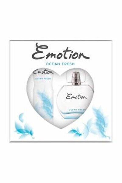 Ocean Fresh Edt 50 Ml + 150 Ml Deodorant Kadın Parfüm Seti 8690586016667