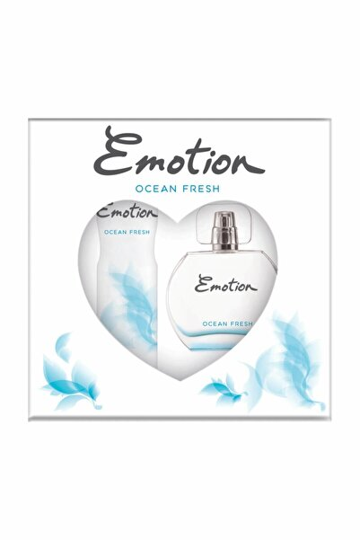 Emotion Ocean Fresh Edt 50 Ml + 150 Ml Deodorant Kadın Parfüm Seti 8690586016667