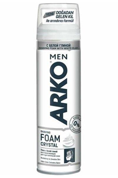 ARKO Men Traş Köpüğü Crystal Kil Özlü 200 ml